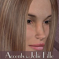 Accents for Jolie Fille  3-DArena