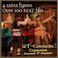 RT-Cossacks Expansion 3D Figure Assets renapd