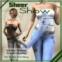 Sheer Show - Outfit and hair textures for Sheer and Sexy  ilona