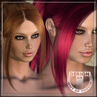 °DejaVu Shades° for DejaVu Hair by FKDesign 3D Figure Assets outoftouch