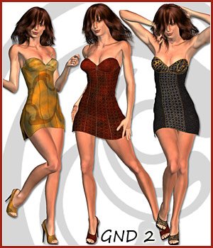 Young Fashion for GND 2 3D Figure Assets karanta