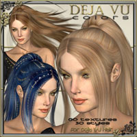 * DejaVu Colors  - Real Hair and Styles for DejaVu Hair *  ilona