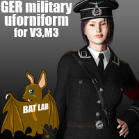 BAT's GER military uniform 3D Figure Essentials BATLAB