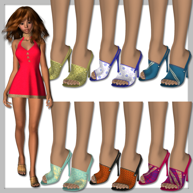 Aiko High Heels and 50 Styles