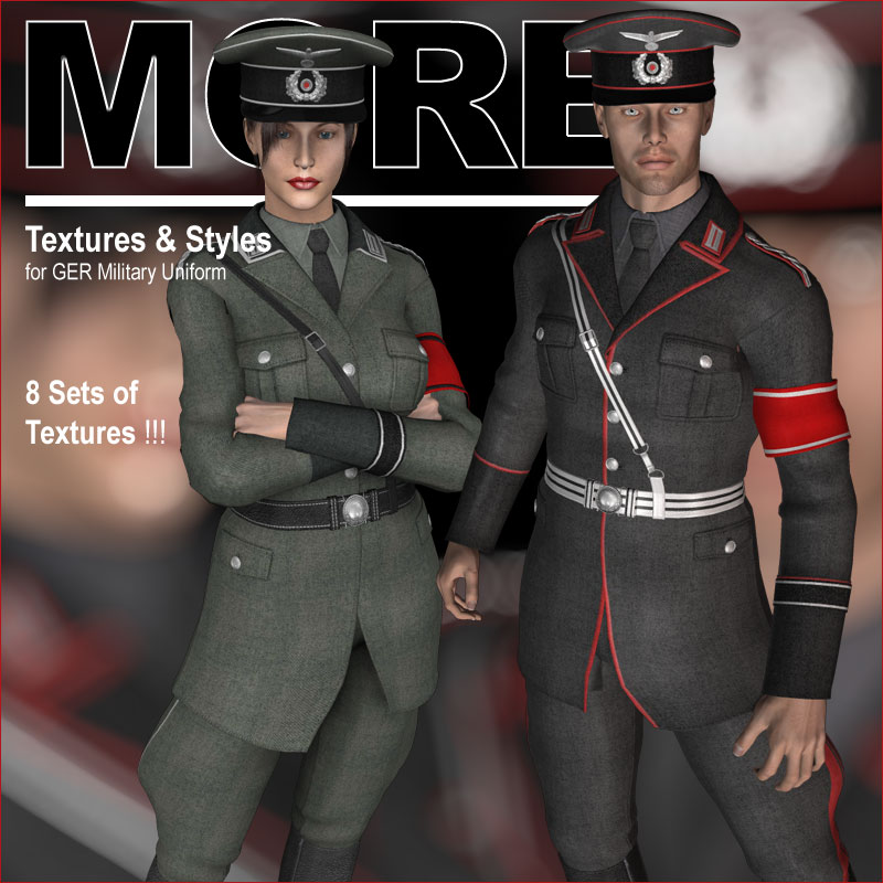 MORE Textures & Styles for GER Military Uniform