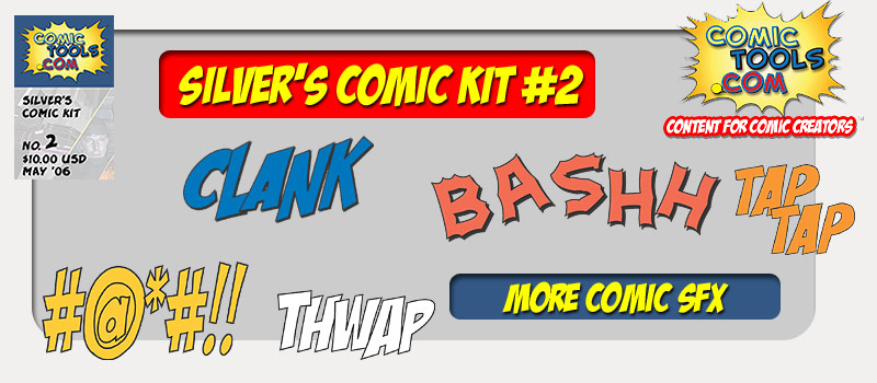 silver's Comic Kit #2 More SFX!
