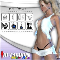 Hi-Fashion (New Age) - MyWay 3D Models 3D Figure Essentials Pretty3D