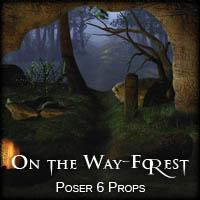 On the Way-Forest 3D Models 2D Graphics vikike176