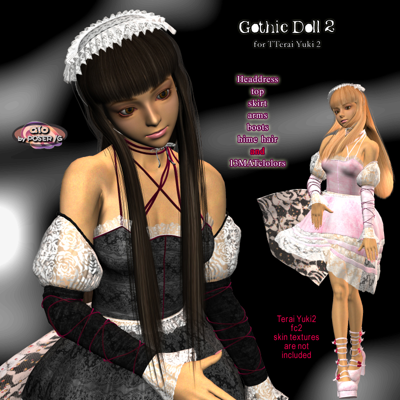 Gothic Doll2 for Terai Yuki2