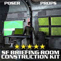 SF Briefing Room 3D Models coflek-gnorg