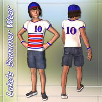 Luke Summer Wear Props/Scenes/Architecture Clothing karanta