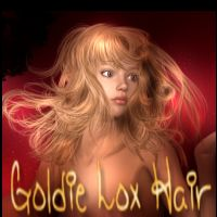 Goldie Lox Hair 2D 3D Models chevybabe25