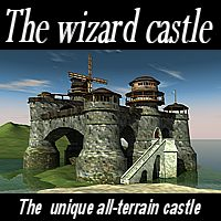 The wizard castle Props/Scenes/Architecture Themed vbarreto
