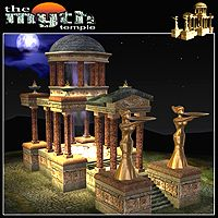 The Myth - Temple 3D Models 2D Graphics mytilus