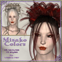 **Misako Colors - Real Hair and Styles for Misako Hair**  ilona