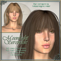 ** Moonlight Serenade - Real Hair and styles for Moonlight Hair**  ilona