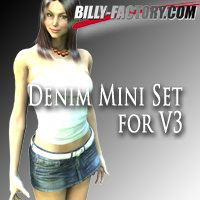 V3 Denim Mini Set Clothing billy-t