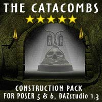 The Catacombs Props/Scenes/Architecture Themed coflek-gnorg