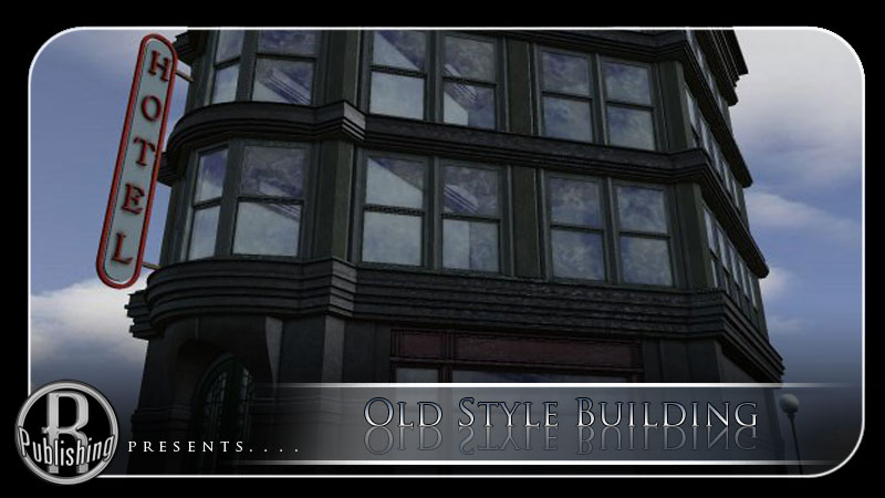 Old Style Building (Poser, Vue  & OBJ) by RPublishing