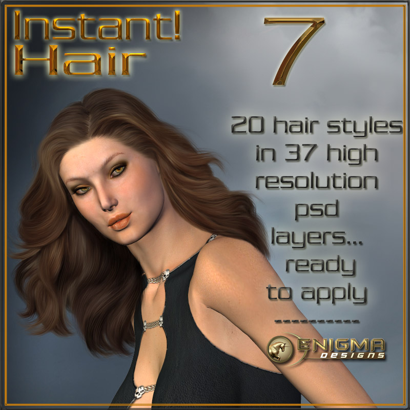 Instant! Hair 7 by ilona