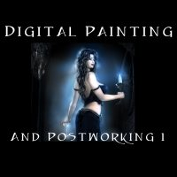 Digital painting and postworking1 2D Graphics Tutorials : Learn 3D chevybabe25