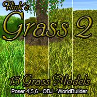 Flinks Grass 2 3D Models Flink