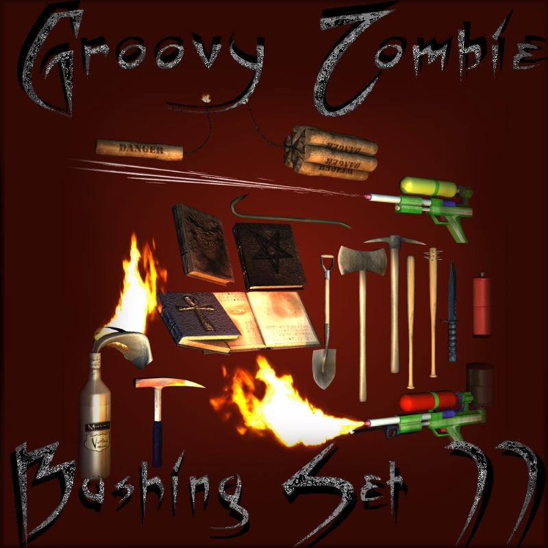 Mock's Groovy Zombie Bashing Set 2
