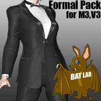 BAT's Formal pack 3D Figure Essentials BATLAB