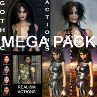 Postwork Actions MEGA Pack 2D AdamWright