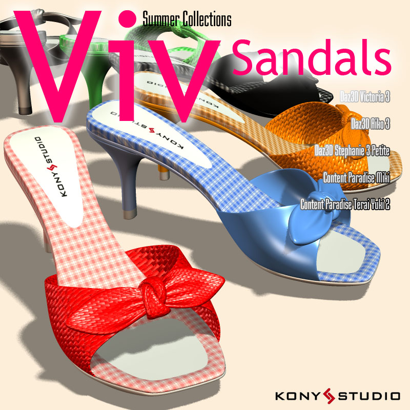 Summer Collections Viv Sandals