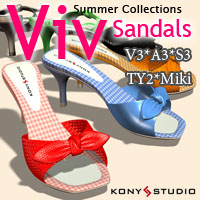 Summer Collections Viv Sandals Clothing kony