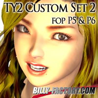 TY2 Custom Set 2 3D Figure Assets billy-t