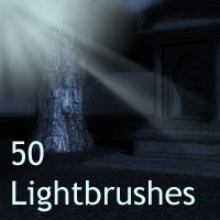 50 Lightbrushes 2D Amaranth