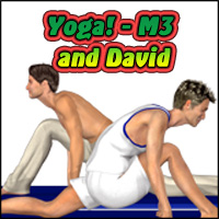 Yoga Megapack: David and M3  KarenJ