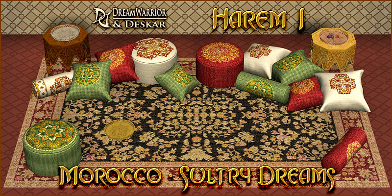Harem 1 - Morocco - Sultry Dreams