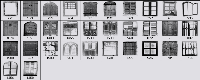 Door and Winow Photoshop Brushes. Previous Next  sc 1 st  Renderosity & Door and Winow Photoshop Brushes