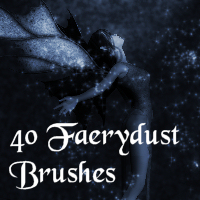 Faerydust Brushes PS 3D Models 2D Amaranth