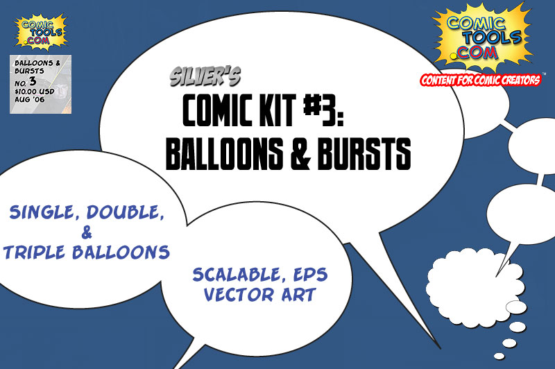 Comic Kit #3 Balloons & Bursts