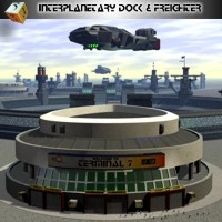 Interplanetary Dock  Simon-3D