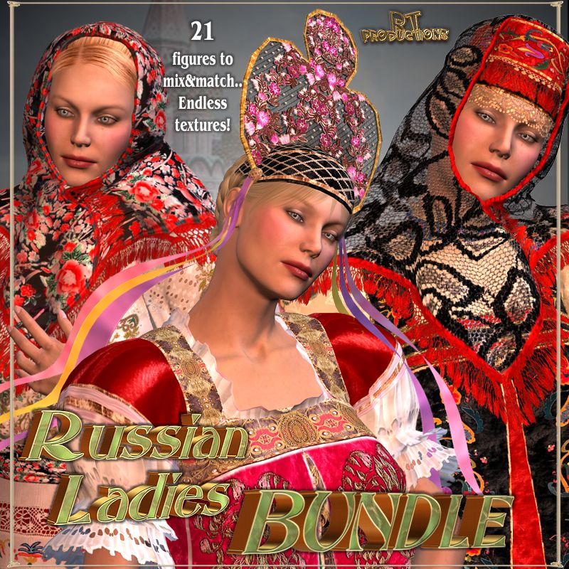 RT-V3 Russian Ladies BUNDLE