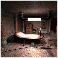 Bleak Future - Bedroom (Poser, Vue & OBJ) 3D Models RPublishing