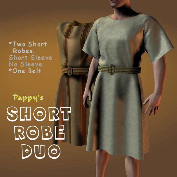 Short Robe Duo