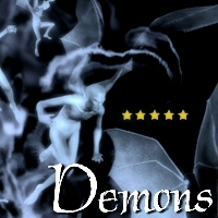 50 Photoshop Brushes of Demons 3D Models 2D Graphics designfera
