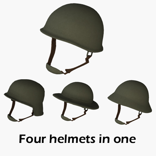 Magic WWII Helmet