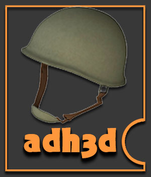 Magic WWII Helmet 3D Models 3D Figure Essentials adh3d