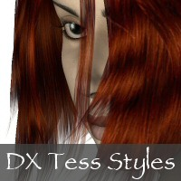 DX Tess Hair Colors by Christel
