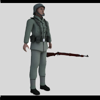 WWII German Infantry  adh3d