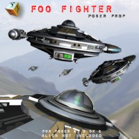 Foo Fighter Prop  Simon-3D
