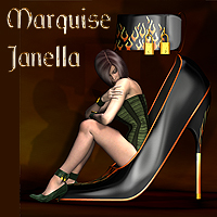 Marquise Collection for the Janella Shoes  SaintFox