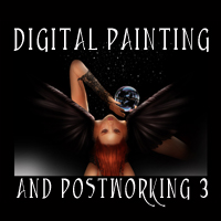 Digital Painting and Postworking 3 Tutorials chevybabe25